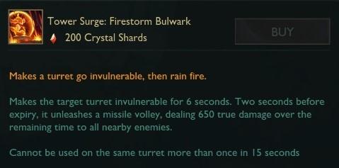Firestorm Bulwark