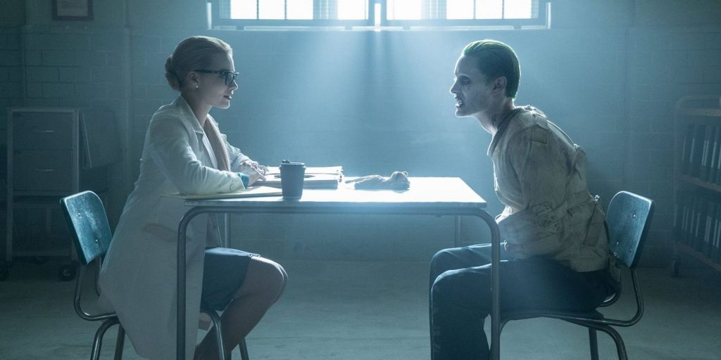 Suicide-Squad-Harley-Quinn-and-Joker-in-Insitution