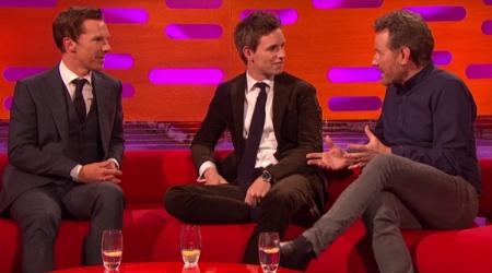 Cumberbatch, Cranston i Redmayne na jednej kanapie