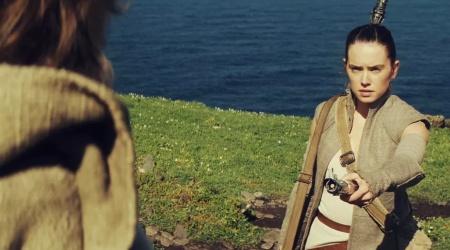 Rey będzie musiała zasłużyć na trening u Luke'a?