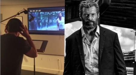 Zobacz, jak Hugh Jackman nagrywał głosy do Logana | Hugh Jackman Logan