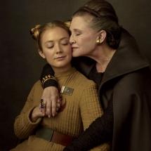 Gwiezdne Wojny Ostatni Jedi - Billie Lourd i Carrie Fisher