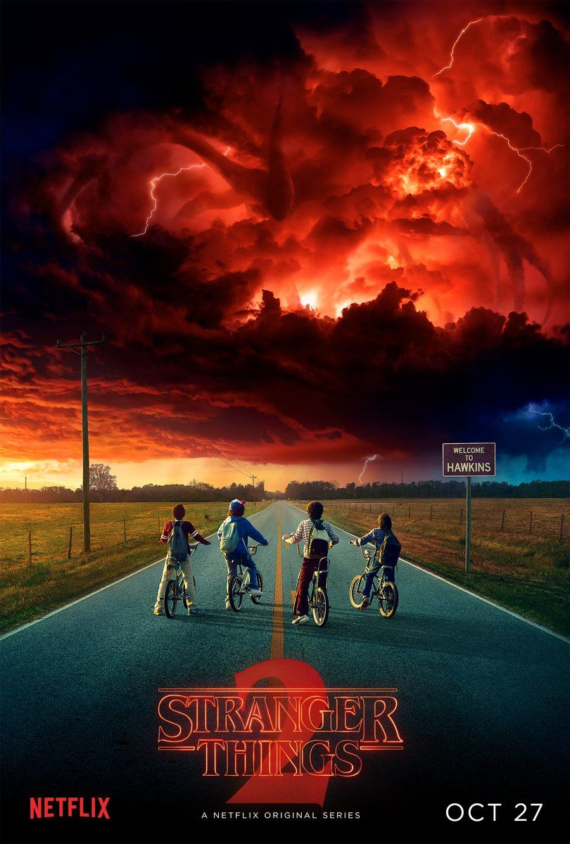 Stranger Things 2 plakat