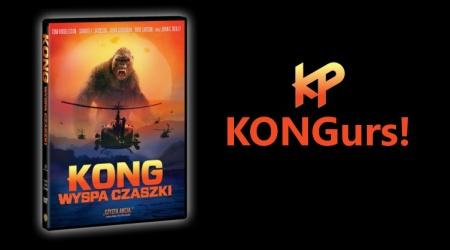 KONGurs! Wygraj Kong: Wyspa Czaszki na DVD!