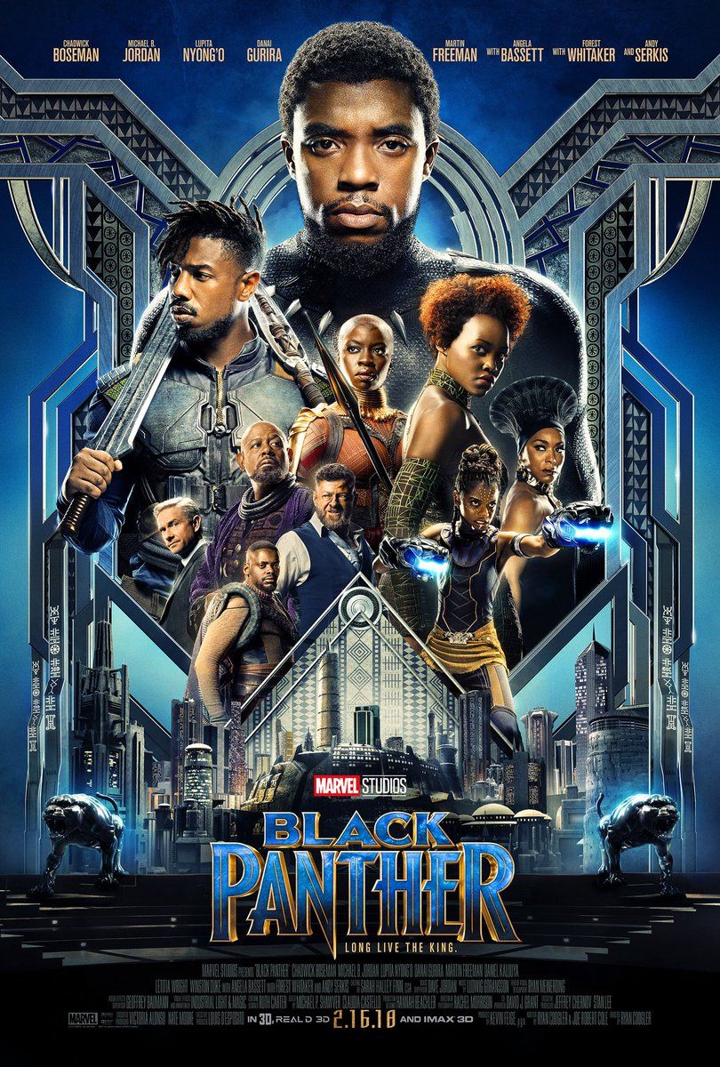 black panther plakat
