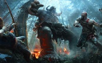 god of war system walki, god of war gameplay walka