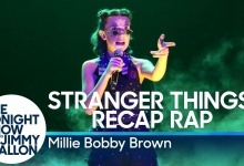 Millie Bobby Brown rapuje o Stranger Things u Fallona!