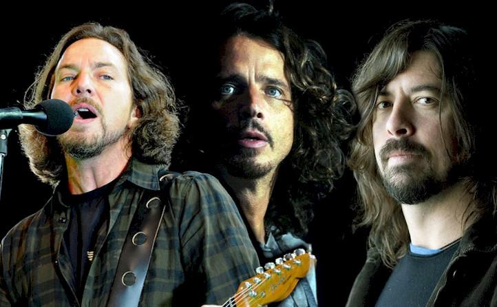 Trzech króli rocka, Pearl Jam, Soundgarden, Foo Fighters