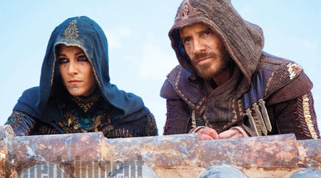 Pierwsze zdjęcie z filmu Assassin's Creed od EW!