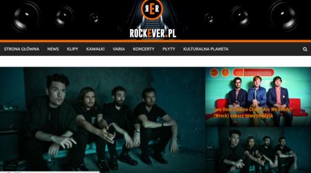 Otwieramy :) nowa strona Rockever.pl