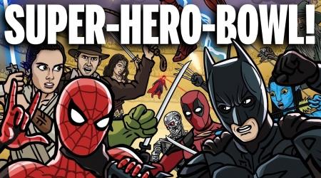 Zobacz epicką walkę filmowych bohaterów!