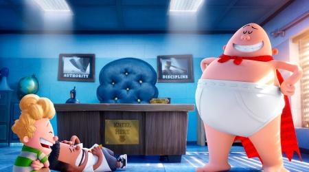 Kapitan Majtas – pierwszy plakat zakręconej animacji