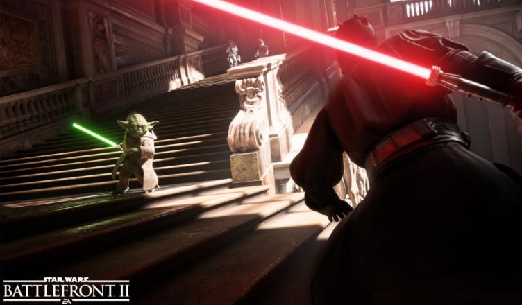 Star Wars Battlefront II gameplay