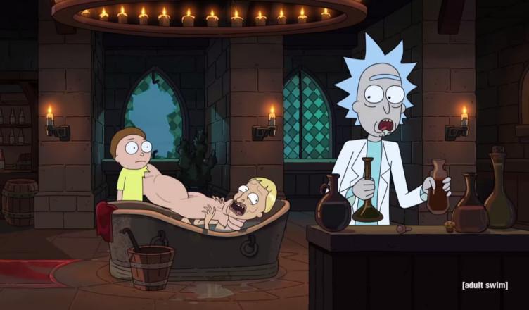Rick and Morty zwiastun