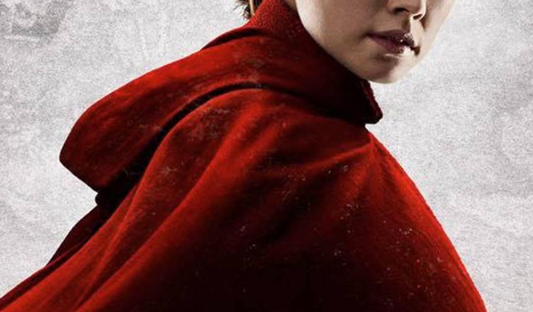 Ostatni Jedi Rey plakat