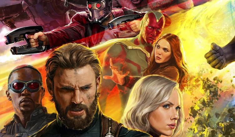 Avengers Infinity War Promocyjny Plakat Oficjalnie