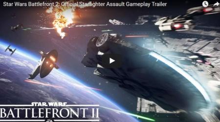 Star Wars: Battlefront 2 – zobaczcie nowy zwiastun bitew kosmicznych