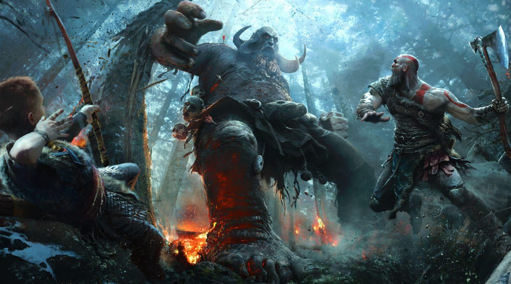 god of war system walki, god of war gameplay walka