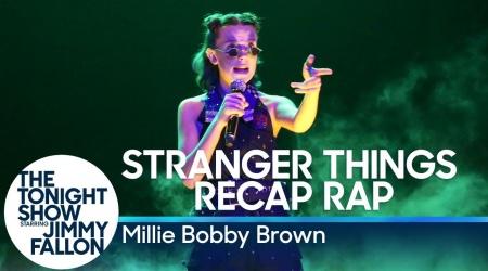 Millie Bobby Brown rapuje o Stranger Things u Fallona!