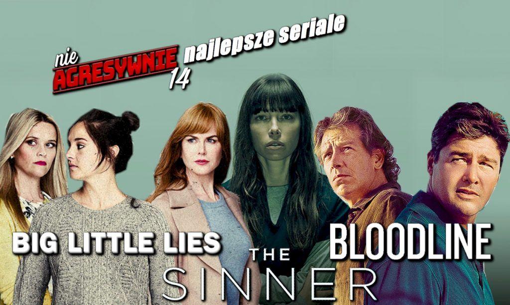 Bloodline recenzja, Wielkie kłamstewka recenzja, Nowe seriale 2018, The Sinner recenzja