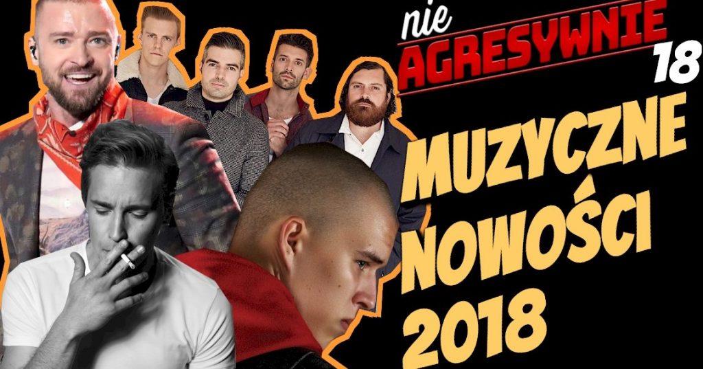 Bownik Delfina, Justin Timberlake Man of the Woods, The Boxer Rebellion Ghost Alive, Zalewski śpiewa Niemena, co nowego w muzyce 2018