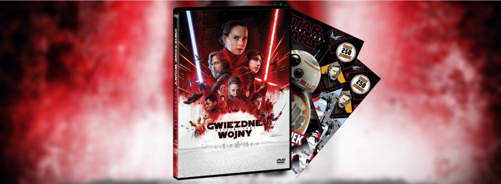 Ostatni Jedi konkurs DVD